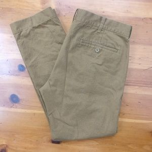 J. Crew The Driggs Men's Chinos Tan  Khaki Pants
